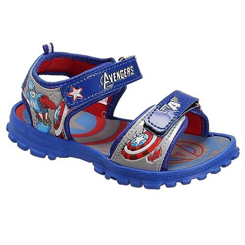a5ef5f80229 Avengers Boy s Blue Sandals and Floaters - 9 Kids UK India (27 EU ...