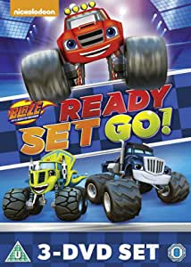 Blaze And The Monster Machines: Ready, Set, Go Collection
