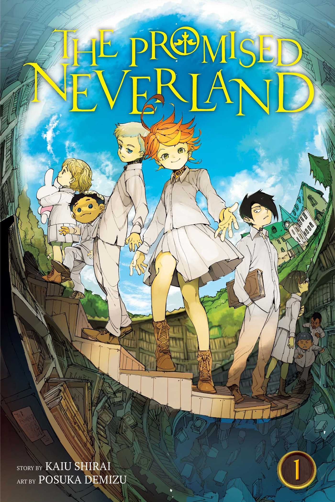 Amazon.com: The Promised Neverland, Vol. 1 (1) (9781421597126): Shirai,  Kaiu, Demizu, Posuka: Books
