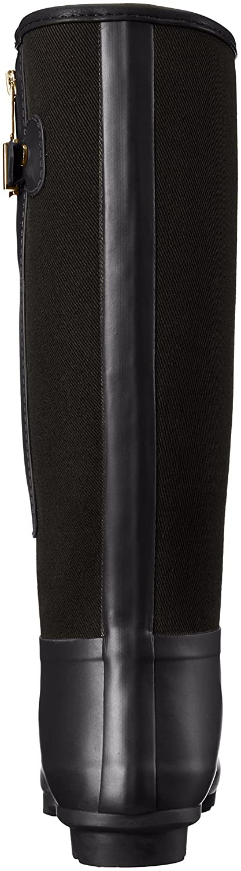Tommy Hilfiger Women's Mela Rain Boot B01F9I6EUC 5 B(M) US|Black