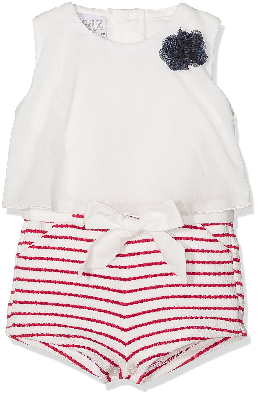 PAZ Rodriguez 005-99615, Jersey para Bebés, (Crudo/Rojo), 12M: Amazon.es: Ropa y accesorios