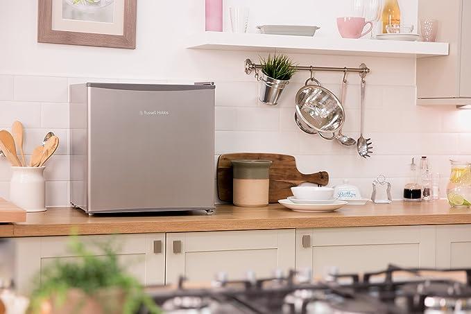 Bomann Mini Kühlschrank Durchsichtig : Russell hobbs rhttlf ss mini kühlschrank liter kühlteil