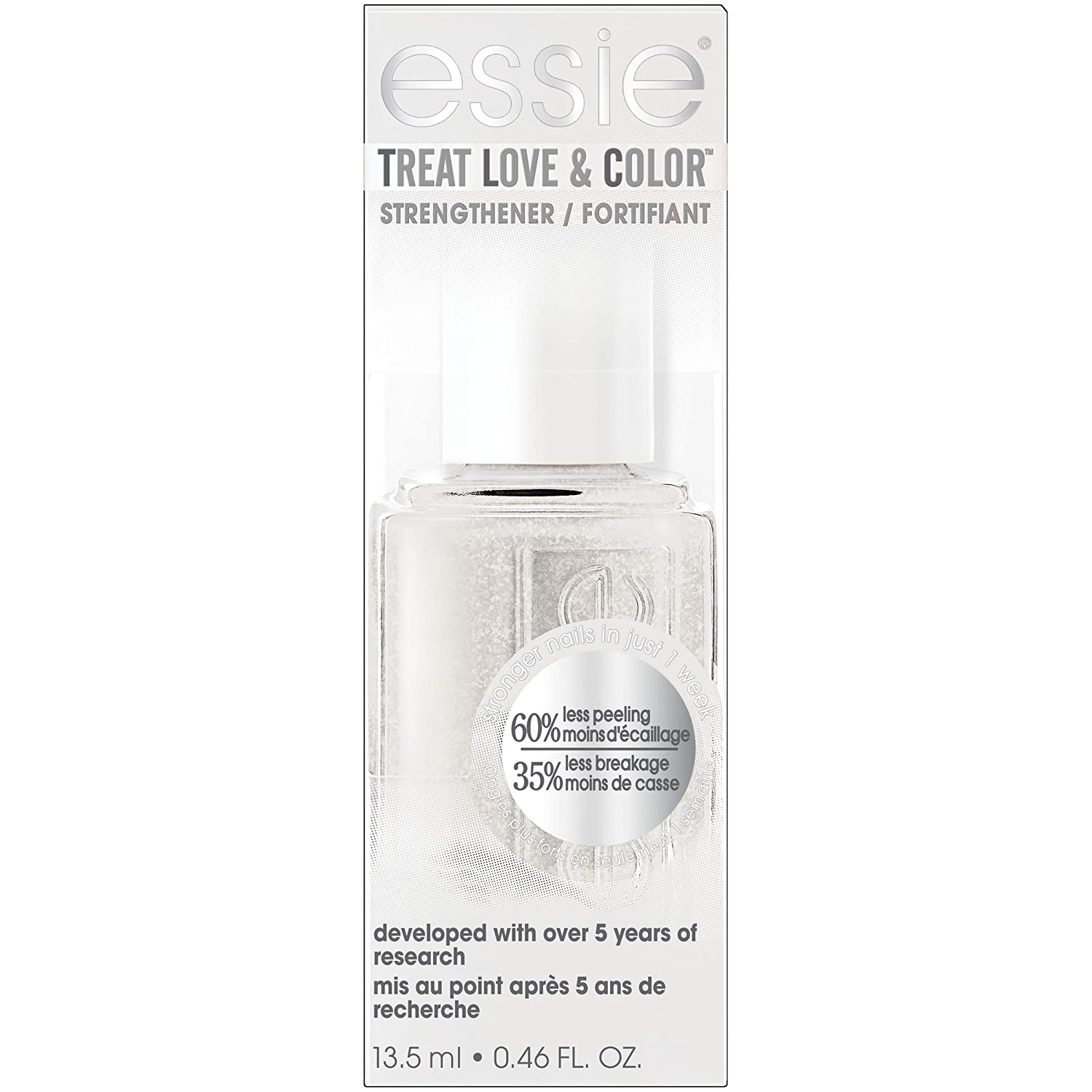 essie Treat Love & Color Nail Polish For Normal to Dry/Brittle Nails, In The Balance, 0.46 fl. oz.