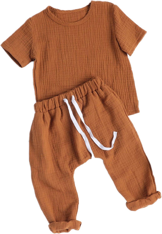 Baby boy fashion clothing set casual short sleeved printed T-shirt+pants 2pcs