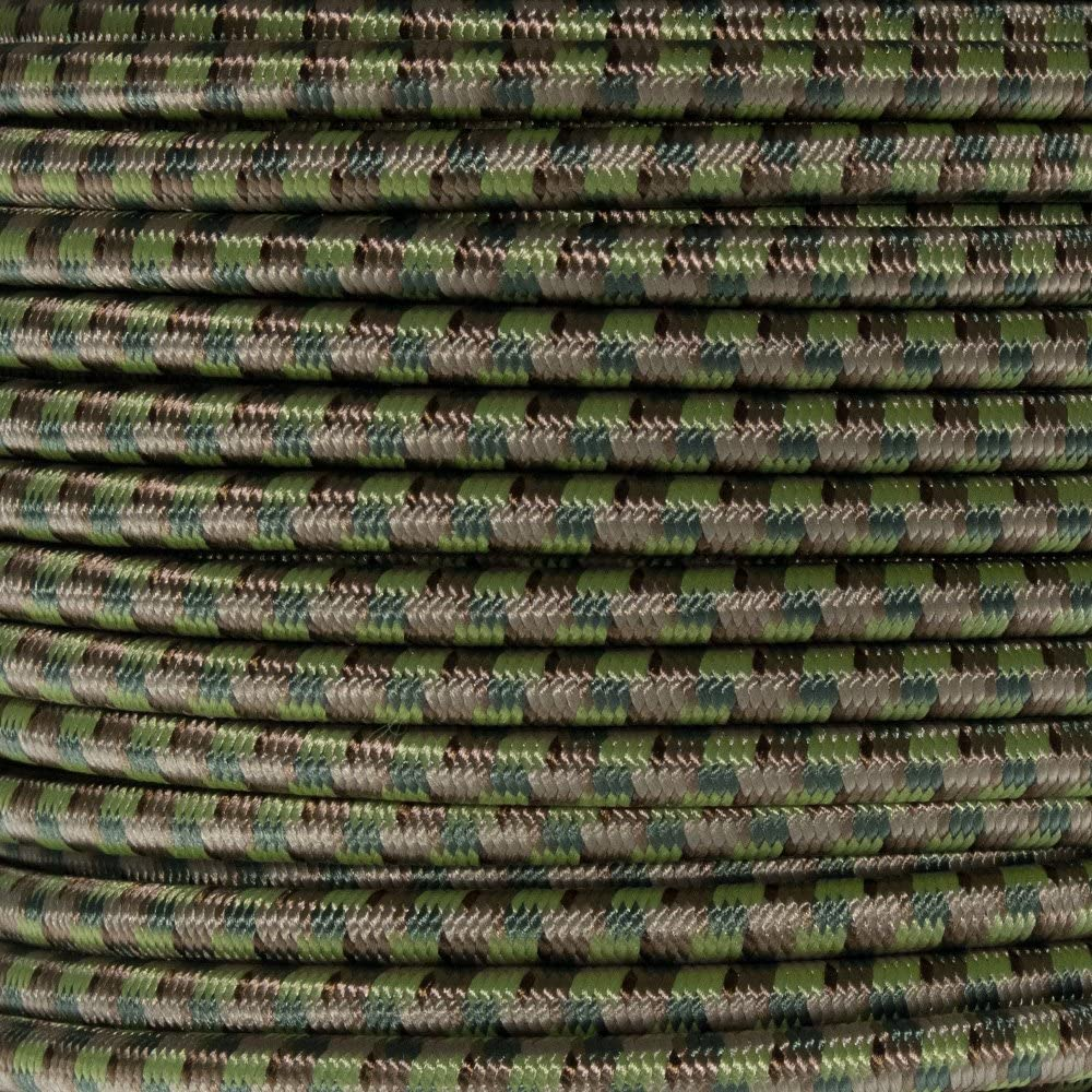 Lengths up to 1000 feet West Coast Paracord Marine Grade Shock Cord 1//4-inch Made in USA 100 Feet, Imperial Red