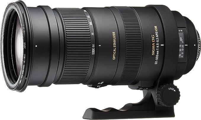 Sigma 50 500mm F4 5 6 3 Dg Os Hsm Objektiv Für Nikon Kamera