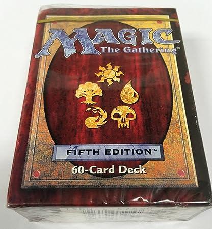 Amazon.com: 5th Edition starter tournament deck Magic: the ...