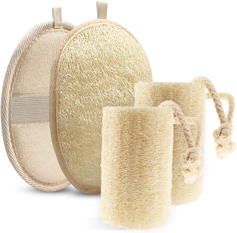Yingwei VWH Natural Loofah Brosse /à Vaisselle pour Bol /à Vaisselle Scrub Huile Antiadh/ésive Cleaning Cloth Cooking Tools