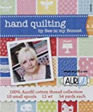 Aurifil LH12HQ10 Handing Quilting By Bee In My Bonnet Cotton 12wt 10 Small Spools
