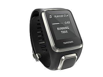 TomTom Spark Cardio Music Premium - Reloj Deportivo, Color Negro ...