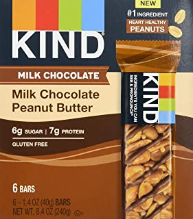 product image for KIND Bars, Milk Chocolate Peanut Butter, Low Sugar, Gluten Free Bars, 1.4 Ounce, 60 Count