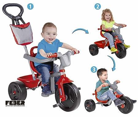 FEBER 800010946 Famosa Evo Trike 3 en 1 Plus -Triciclo