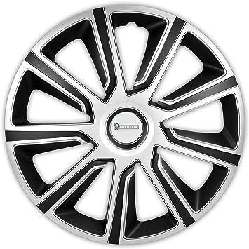 Michelin 92015 Louise Silber Schwarz 16 Zoll 4 X Universal Radzierblenden Radkappen Auto