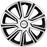 Michelin 92014 Radzierblende Louise, Silber/Schwarz, 15 Zoll