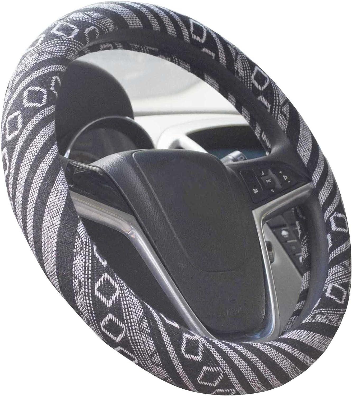 38cm grande stile etnico panno di lino grezzo panno volante automobilistico antiscivolo e assorbimento del sudore auto copertura dellinvolucro dellautomobile B, 15.25-16