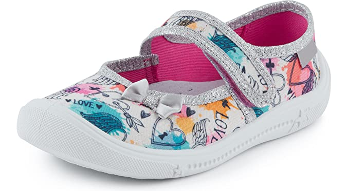 Ladeheid Zapatillas con Cierre Abrojo Calzado Niña LAVI0004: Amazon.es: Zapatos y complementos