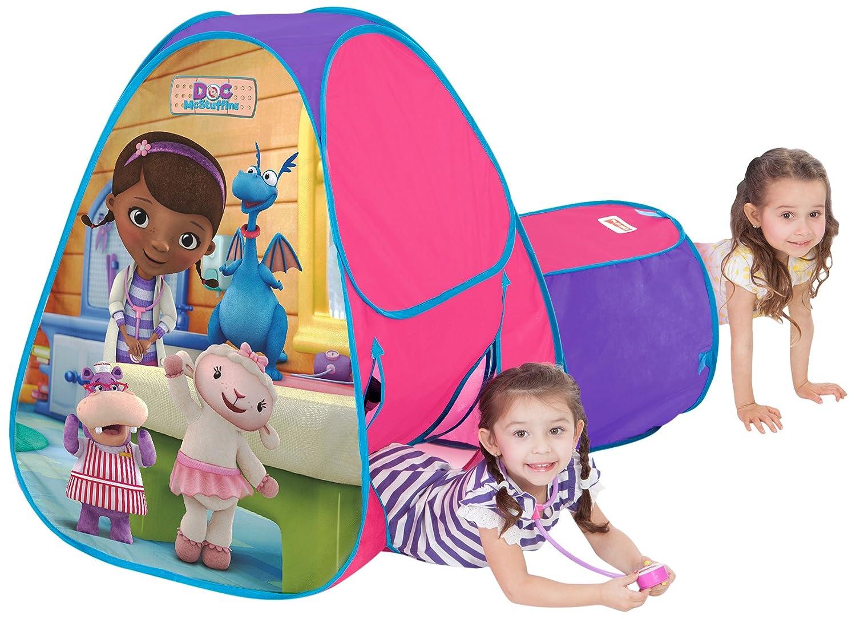 sc 1 st  Amazon UK & Playhut Doc McStuffins Hideabout Tent: Amazon.co.uk: Toys u0026 Games