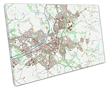EACanvas BURNLEY ENGLAND STREET MAP Art CANVAS WALL ART ... on map of swindon, map of darlington, map of york, map of heysham, map of haywards heath, map of middleton, map of march, map of london gatwick airport, map of tandragee, map of reading, map of forest of dean, map of lancashire, map of margate, map of england, map of coleraine, map of tarleton, map of newcastle central, map of eastleigh, map of nailsworth, map of chipping campden,
