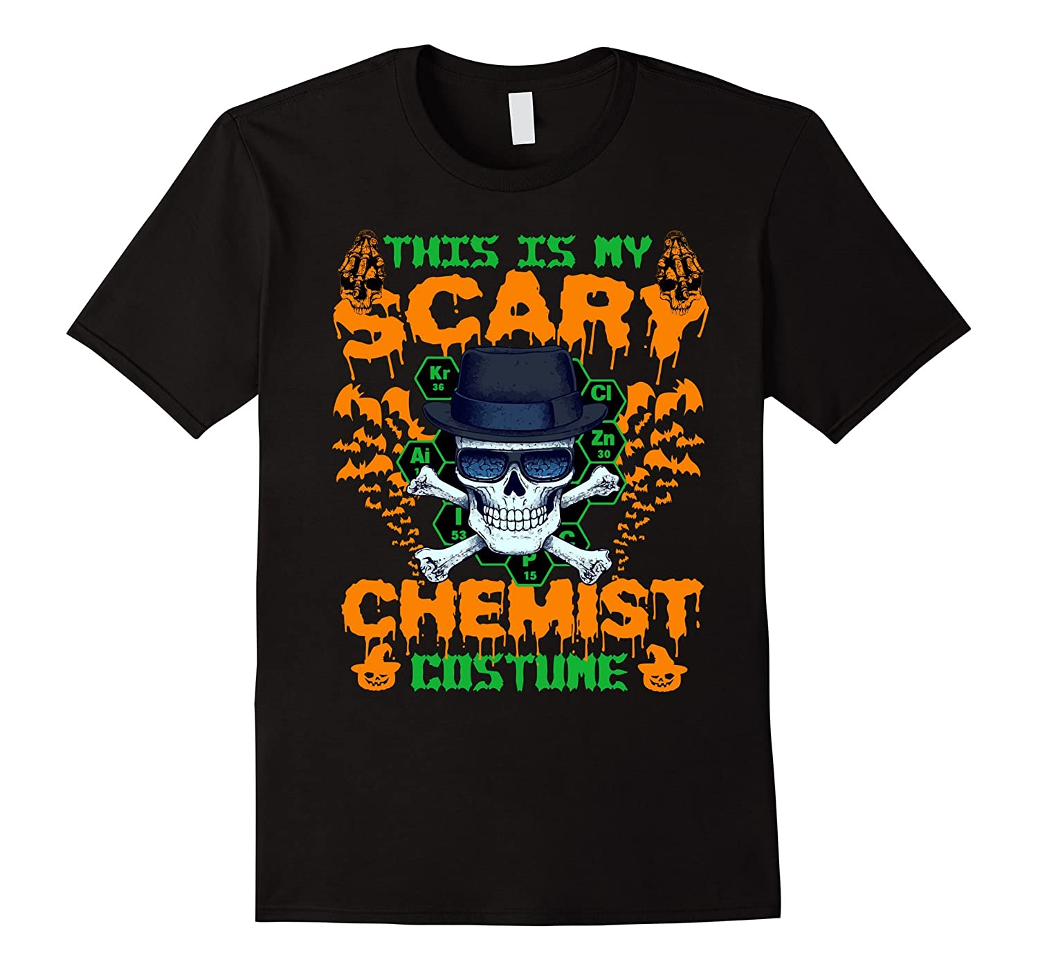 Funny T-shirt For Chemist. Best Gifts For Halloween Party-T-Shirt