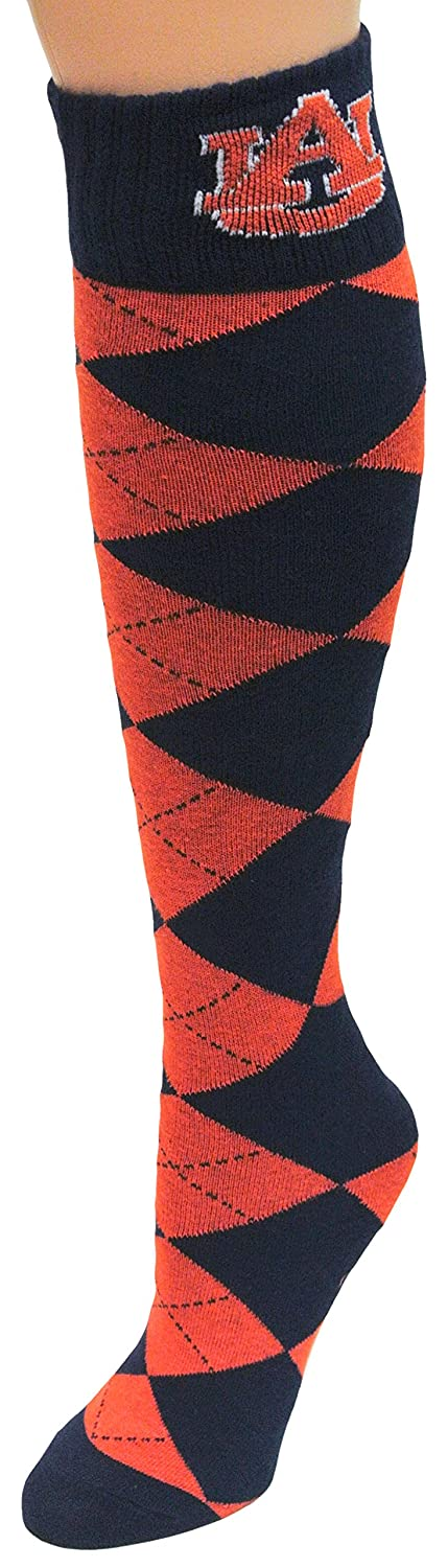 NCAA Argyle Socks One Size Green donegal bay licensed sporting goods 69229