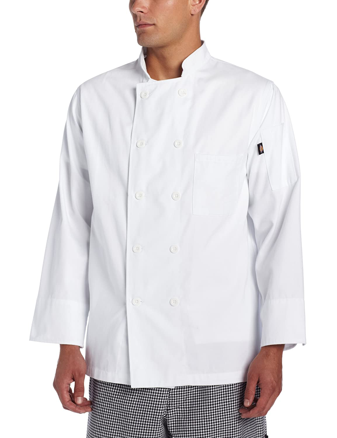 Dickies Mens Giovanni Classic Chef Coat, White, XX-Large: Amazon.es: Ropa y accesorios