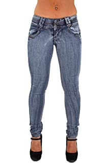 5bbc117e8 Style SF7-95159 Plus Junior Size Mid Waist Butt Lifting Skinny Leg Jeans