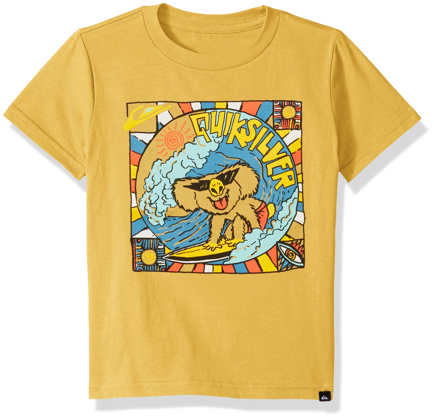 Quiksilver Boys' Little Surfing Koala TEE, Rattan 2
