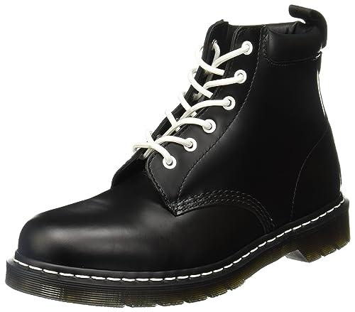 Dr. Martens Unisex de Adultos 939 Smooth Black PU - Botines, Color Negro, Talla 37 EU: Amazon.es: Zapatos y complementos