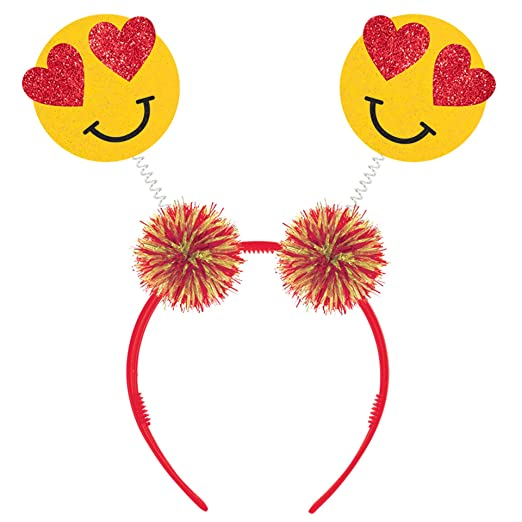Amazon Com Valentine S Day Emoji Head Bopper Clothing