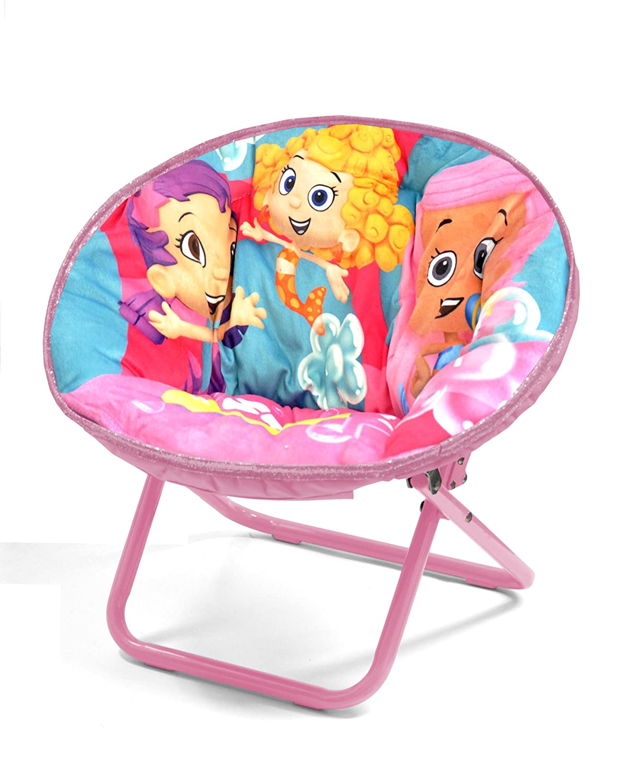 Toddler Saucer Chair Bubble Guppies Kids Toddler Girls