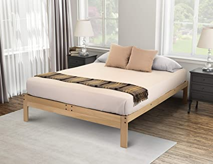 Amazon.com: KD Frames Nomad 2 Platform Bed, Queen: Kitchen & Dining