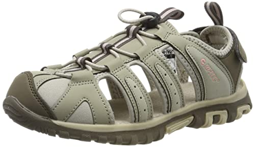 6fa08e022 Hi-Tec Women's Cove Closed Toe Sandals, Beige (Dune/Mellow Rose 42