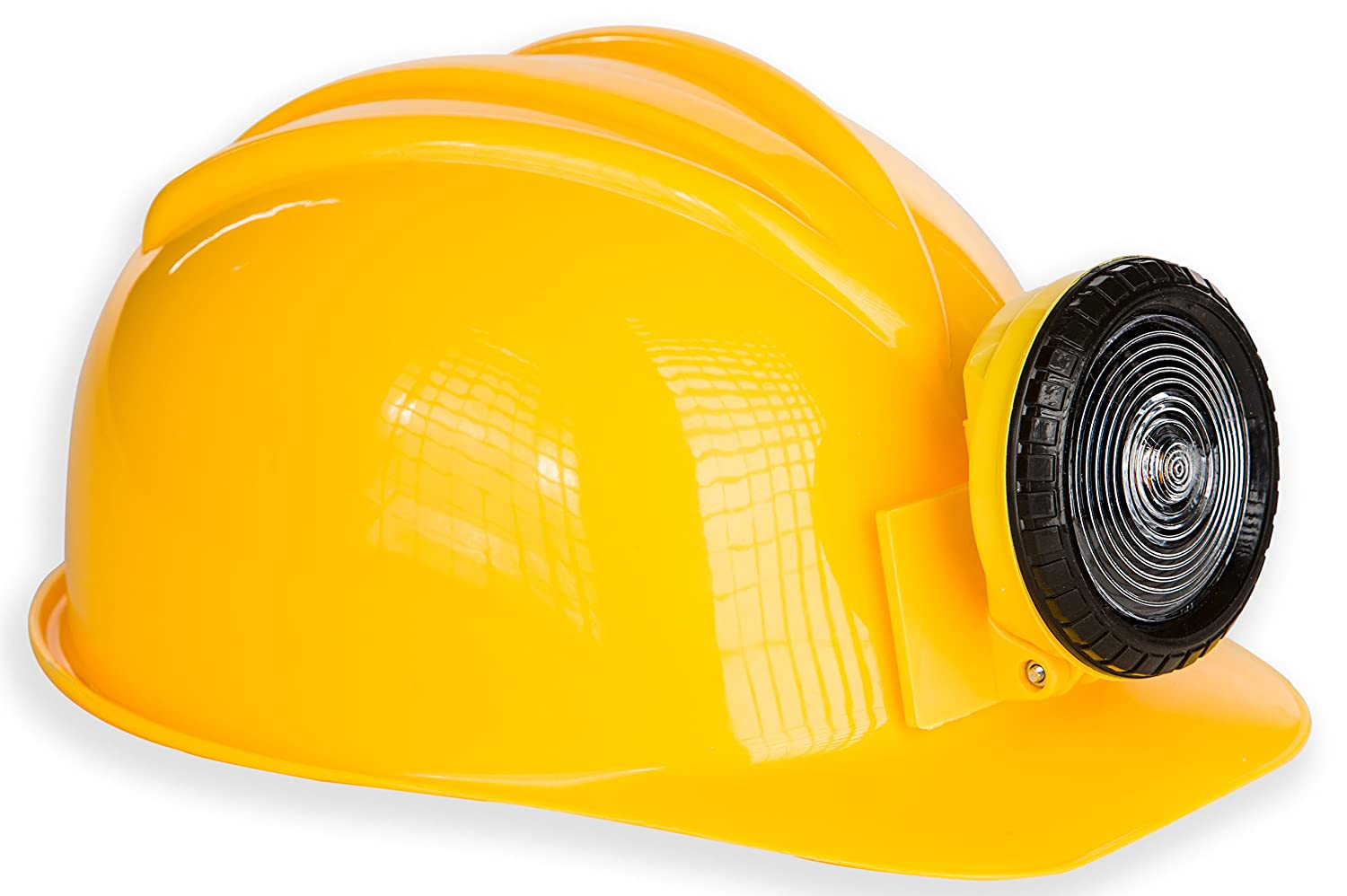 Kangaroo Adult or Kids Adjustable Construction Miner Hard Hat with Light KM-10019-160