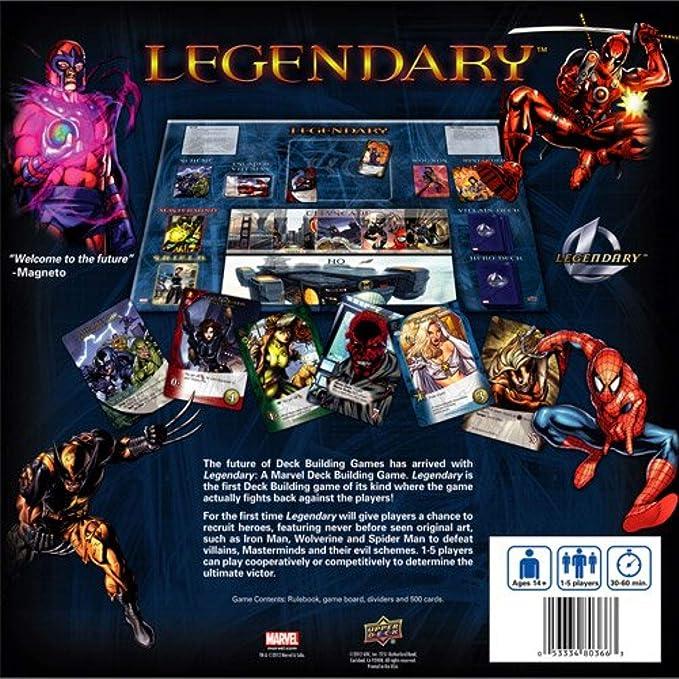 Marvel Legendary – Juego de construcción de cubierta , color/modelo surtido: Amazon.es: Juguetes y juegos