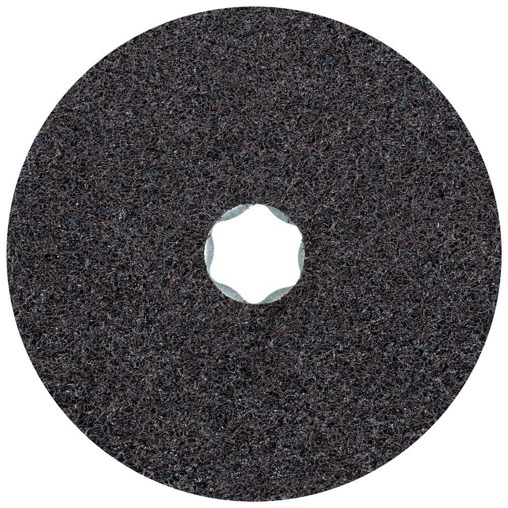 PFERD 48103 Combiclick Non-Woven Disc, Hard Type, 4-1/2'' Diameter, 10,500 RPM, Very Fine Grit (Pack of 10)