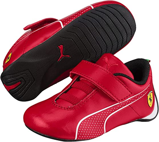 basket puma rouge enfant