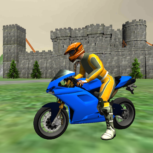 Motor Game - Motorbike Medieval Drive 3D - Motorcycle Riding Simulator