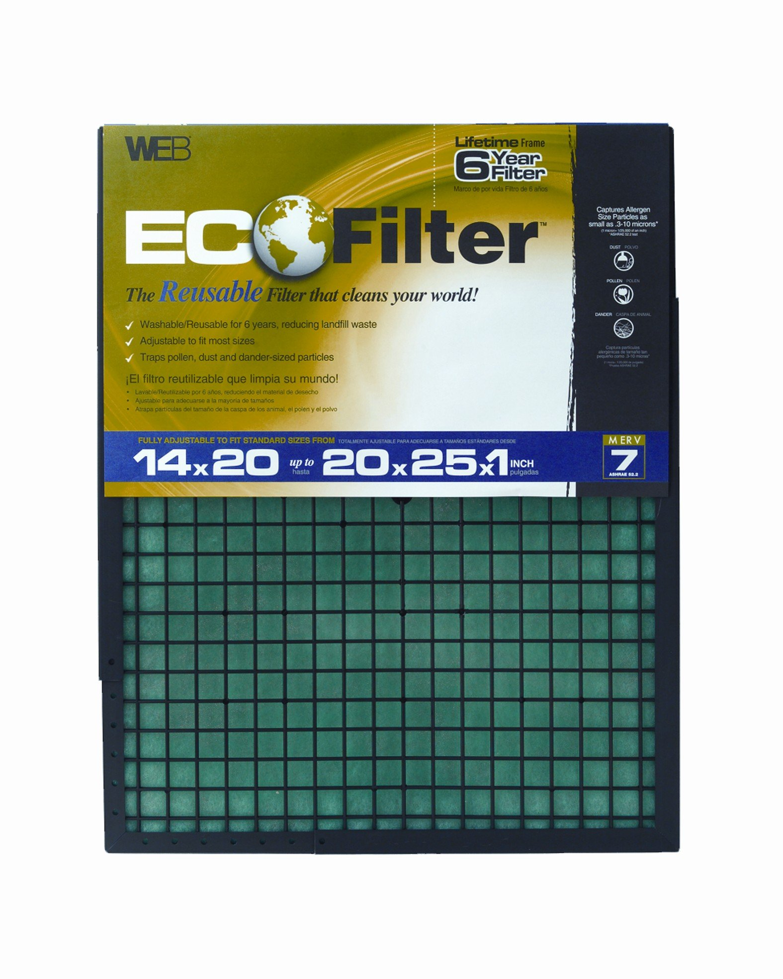 WEB Eco Filter Adjustable, 6 Year