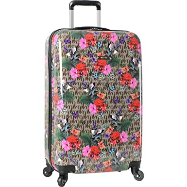 d59e4ad19 Nine West 28-Inch Expandable Hardside Spinner Luggage, Paradise Floral
