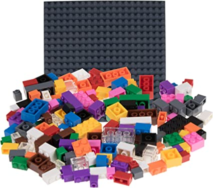 Brown 1x4 Standard Plate Bricks ~ Lego ~ NEW Castle 10