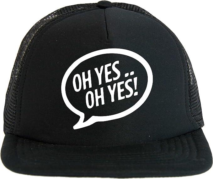 Sombrero Oh Yes Carl Cox Dj, Trucker Cap negro con el logotipo ...