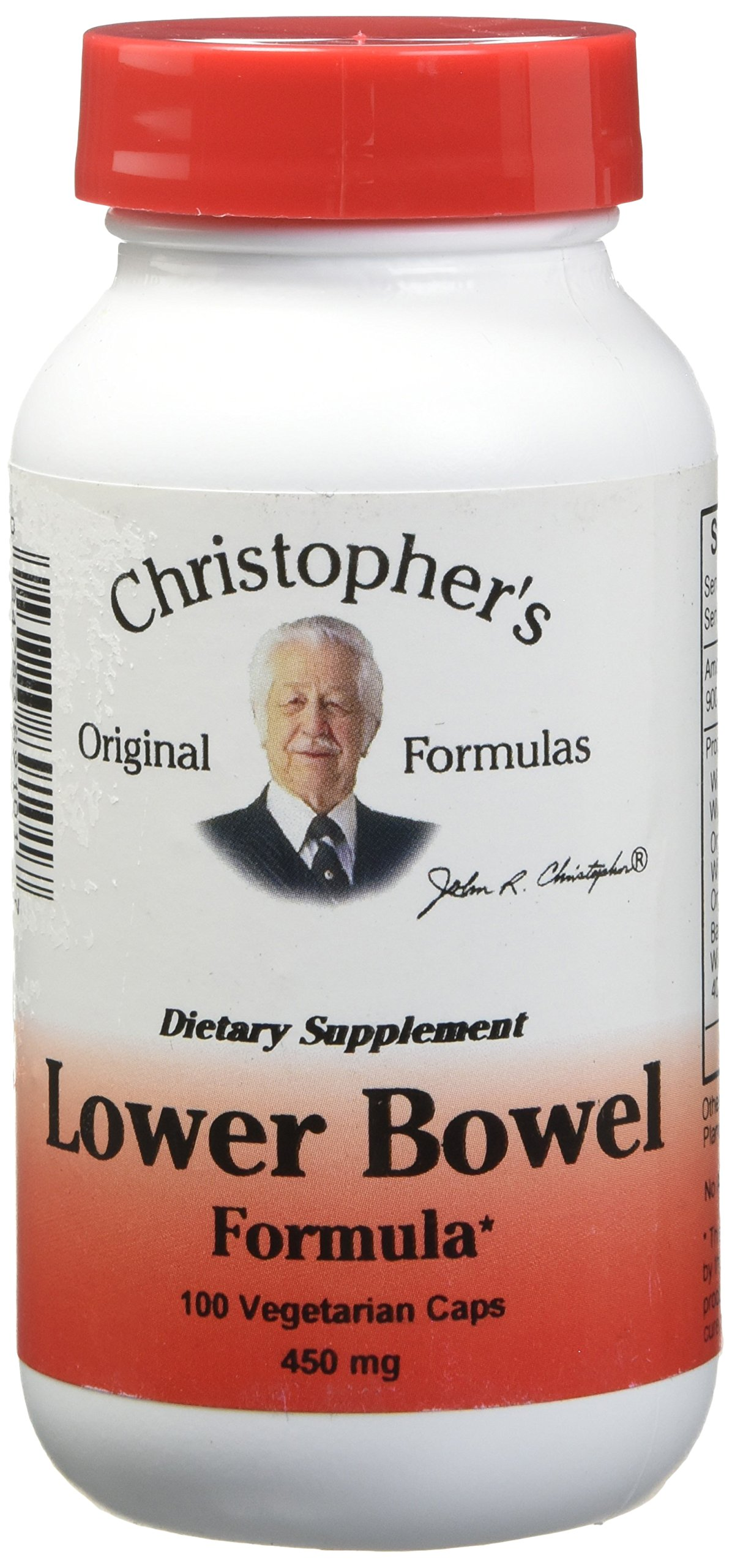 Lower Bowel Formula Dr. Christopher 100 VCaps by Dr. Christopher's