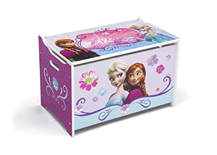 Delta Children - Cofre de almacenaje de juguetes (madera), diseño de ...