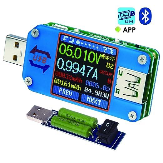 Review USB Meter, Tester, Multimeter,