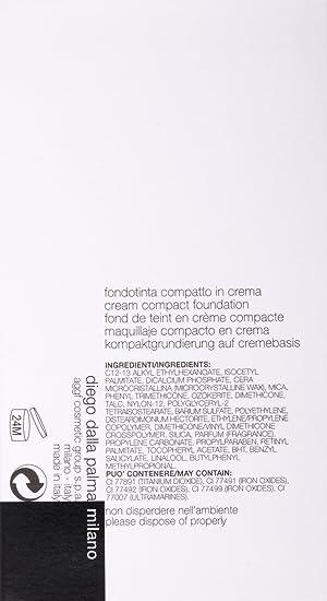 Diego Dalla Palma Base de maquillaje compacta crema 11 – 8 ml ...