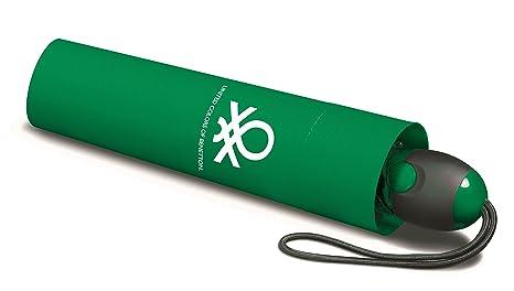 Benetton Paragua plegable, verde (Verde) - 55031green