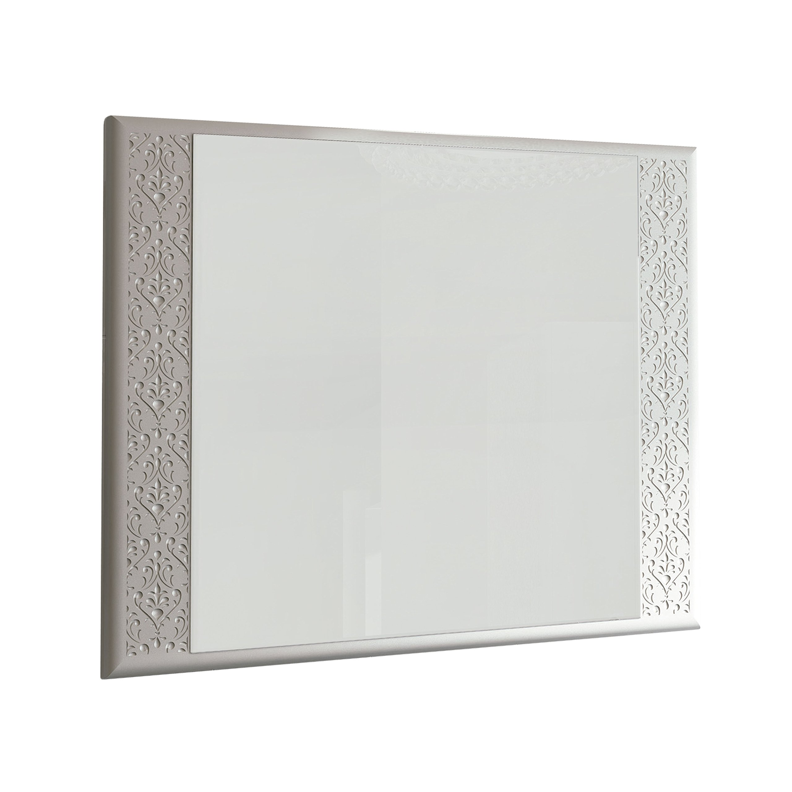 Eviva EVMR908-32WH-Venice Rome 32'' Modern Luxury Bathroom Mirror Combination, White