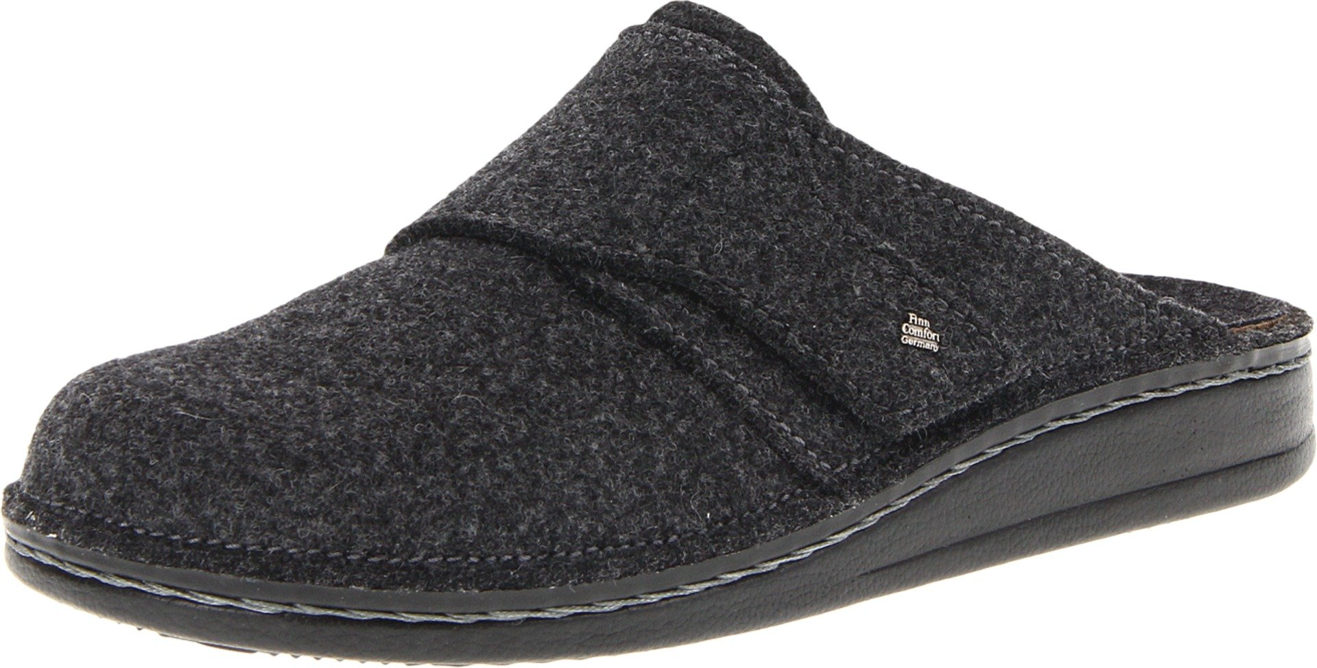 Finn Comfort Unisex Tirol - 6500 Anthrazit Wollfilz Clog/Mule 40 (US Men's 7.5-8, US Women's 10-10.5) Medium