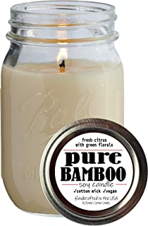 product image for Dianne's Custom Candles Pint Jar Candle - 11.6 oz (Pure Bamboo)