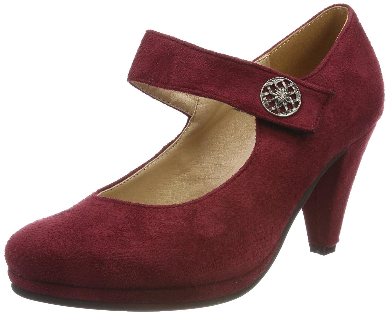 TALLA 35 EU. Andrea Conti 3591515, Zapatos de tacón con Punta Cerrada para Mujer